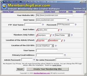 Membership Ease Screen-shot